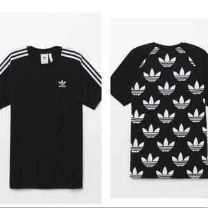 adidas B Sides Trefoil Black T-Shirt